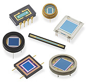 Si- and InGaAs Photodiodes
