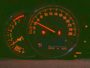 Automotive Lichtmessung Instrument Cluster --