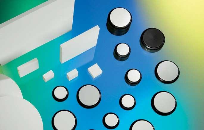 Diffuse Reflectance Standards Zenith Polymer, PTFE-based