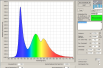 Jeti Spectrometer Spectrum