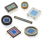 Si- und GaAs-Photodioden